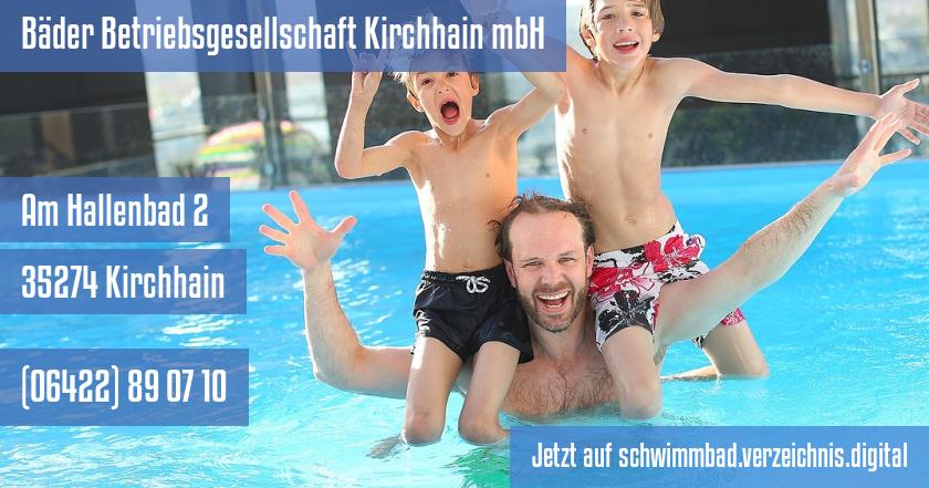 Bäder Betriebsgesellschaft Kirchhain mbH auf schwimmbad.verzeichnis.digital