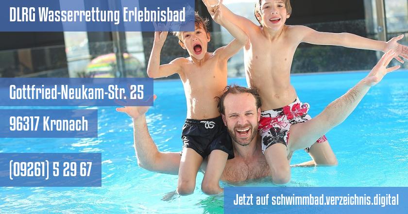 DLRG Wasserrettung Erlebnisbad auf schwimmbad.verzeichnis.digital